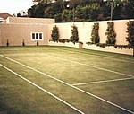 Sand-Filled Turf Courts
